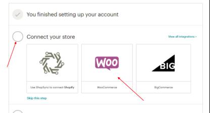 mailchimp账户链接woocommerce