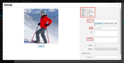 Wordpress图片alt优化