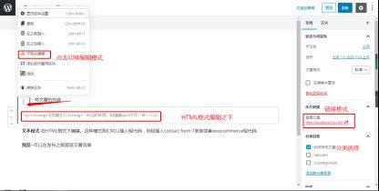 Wordpress文章编辑界面